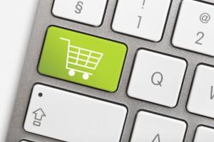 Shopping-Cart-on-Keyboard